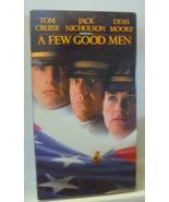 A Few Good Men (VHS, 1993) Tom Cruise, Demi Moore - $3.47