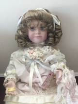 Ashton Drake Galleries Nicole Porcelain Doll by Corinne Layton 1995 - $56.09