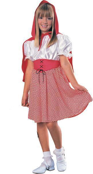 Little Red Riding Hood 4/6 Childs Costume