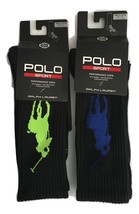 NWT Ralph Lauren Men's Polo Sport Performance Big Pony Crew Socks $14 - $11.99