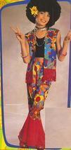 HIPPIE GROOVY COSTUME 8/10 Girls - $30.00