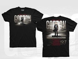 Jeff Gordon 2015 Foundation Of A Champion T Shirt Black  Shirt   In Stock - $19.79+