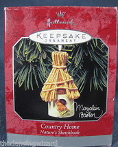 Hallmark Keepsake Country Home Natures Sketchbo... - $11.35