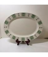 "Round Platter Chop Plate Delicious Pfaltzgraff Apples 12.5"" - $29.02"
