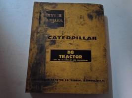 Caterpillar D8 Tractor 36A4469 46A10725 Binder Service Manual DAMAGED FA... - $49.45