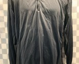 NIKE Golf Black Pull Over Jacket Men's Size XL