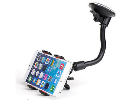 Univer Car Windshield 360° Rotating  Mount Holder Stand Bracket for Cell Phone Z