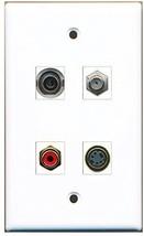 RiteAV  1 Port RCA Red 1 Port Coax Cable TV- F-Type 1 Port S-Video 1 Port 3.... - $20.88