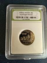 2000 S GEM PROOF Virginia Quarter. Graded slabbed DCAM INB Numismatic Bu... - $19.99
