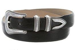 Brenton - Men's Italian Calfskin Designer Dress Golf Belt with Western Silver... - $29.20