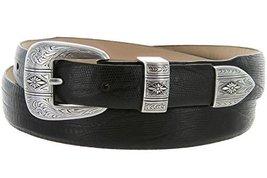 Silver Mesa - Men's Italian Calfskin Designer Dress Golf Belt with Western Si... - $29.20