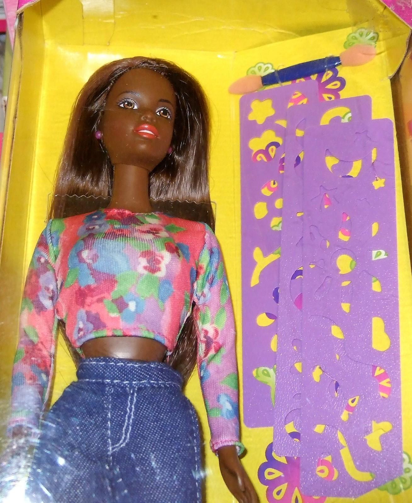 Barbie Doll AA -Happenin' Hair - Christie Doll (AA) image 2