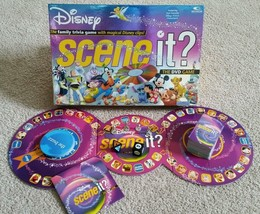 2004 Disney Scene it? DVD Board Game by Mattel Complete Very Good Condition - $23.36