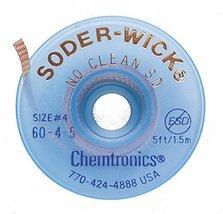 Chemtronics 60-4-5 Soder-Wick No Clean SD Desoldering Braid - $8.39