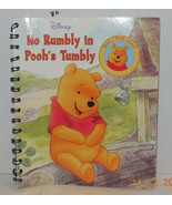 Story Reader Disney Book: No Rumbly in Pooh's Tumbly by Disney Book Winn... - $5.00
