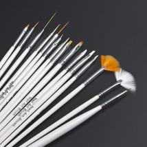 15pcs High Quality Acrylic UV Gel Nail art Design Pen Drawing Painting B... - €2,66 EUR