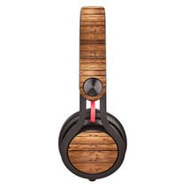 Wooden Board design Skin decal for Monster Beats Mixr by Dr. Dre headphones - $15.00