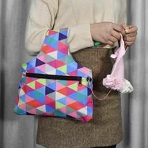 Portable Waterproof Knitting Needle Storage Bag Yarn Knit Craft Organizer - $8.50+