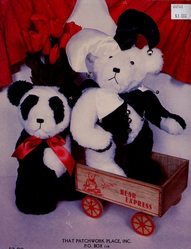 Joint Adventures Fully Jointed Collectible Bears Pattern Leaflet