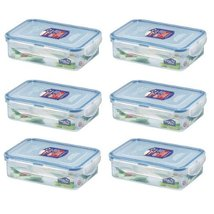 Lock & Lock, No BPA, Water Tight, Food Container, 2.3-cup, 19-oz, Pack of 6, ... - $28.70