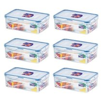 LockandLock 34-Oz, Food Container Pack of 6 - $41.57