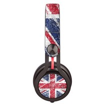 UK Flag Concrete design skin decal for Monster Beats Mixr by Dr. Dre hea... - $15.00