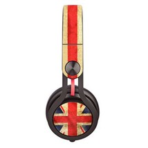 Blurry UK Flag design skin decal for Monster Beats Mixr by Dr. Dre headp... - $15.00
