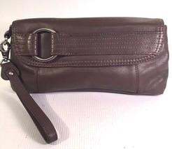 VGU KENNETH COLE REACTION Leather CLUTCH 4X10X1.5 - $32.54