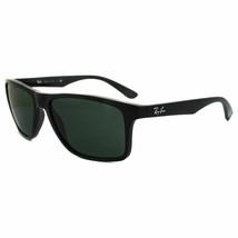 Ray ban Lunettes de Soleil RB4234 601/71 58 Cadre Noir Verre Vert - $94.16