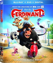 Ferdinand [Blu-ray+DVD+Digital HD, 2018]
