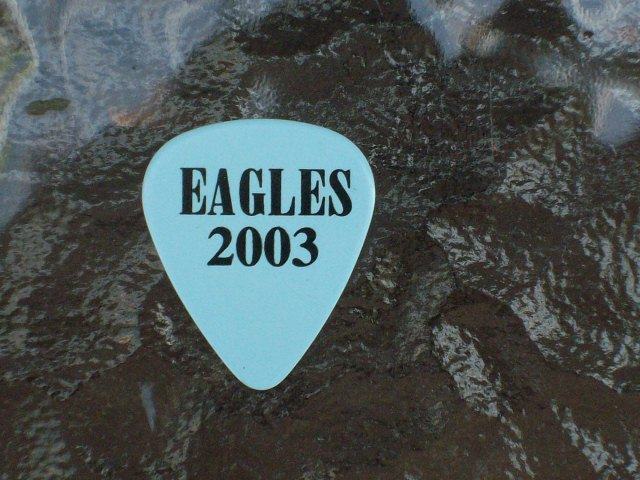 Eagles - TIMOTHY B SCHMIT Guitar Pick - Farewell 1 Tour