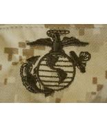 USMC MARINE CORPS DENIM DESERT TAN MARPAT BDU CAMO COMBAT CAP 8 POINT CO... - $24.74