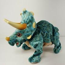2008 Hasbro Playskool Kota & Pals Stompers Baby Triceratops Dinosaur Works Roar - $29.02