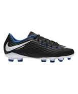 Nike JR Hypervenom Phelon III FG Black Blue Kids Soccer Cleats 852595 002 - $39.95