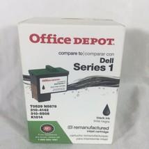 Dell Series 1 Black Office Depot Remanufactured Inkjet Cartridge Ink 281-560 - $6.67