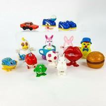 Vintage Plastic Wind Up Toy Lot 14pc Hong Kong Japan China Lips General ... - $29.02