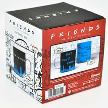 """Friends TV Series """"They Dont Know"""" Black & Blue Heat Changing Coffee Mug Cup image 3"""
