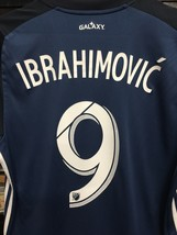 Adidas Mls  La Galaxy Away # 9 Ibrahimovic Jersey 2019 Navy White Size M... - $107.53
