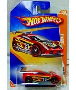 2009 Hot Wheels Track Stars SYNKRO Red Racing Car 63/190 P2383 NIB - $7.49