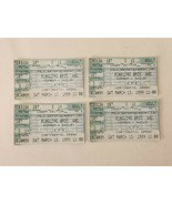 Ringling Bros Brothers and Barnum and Bailey Ticket Stubs Lot of 4 Vinta... - $11.99