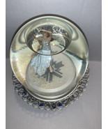Hallmark 1968 Olympic Medalist Peggy Fleming Musical Snow Globe Salt Lak... - $16.48