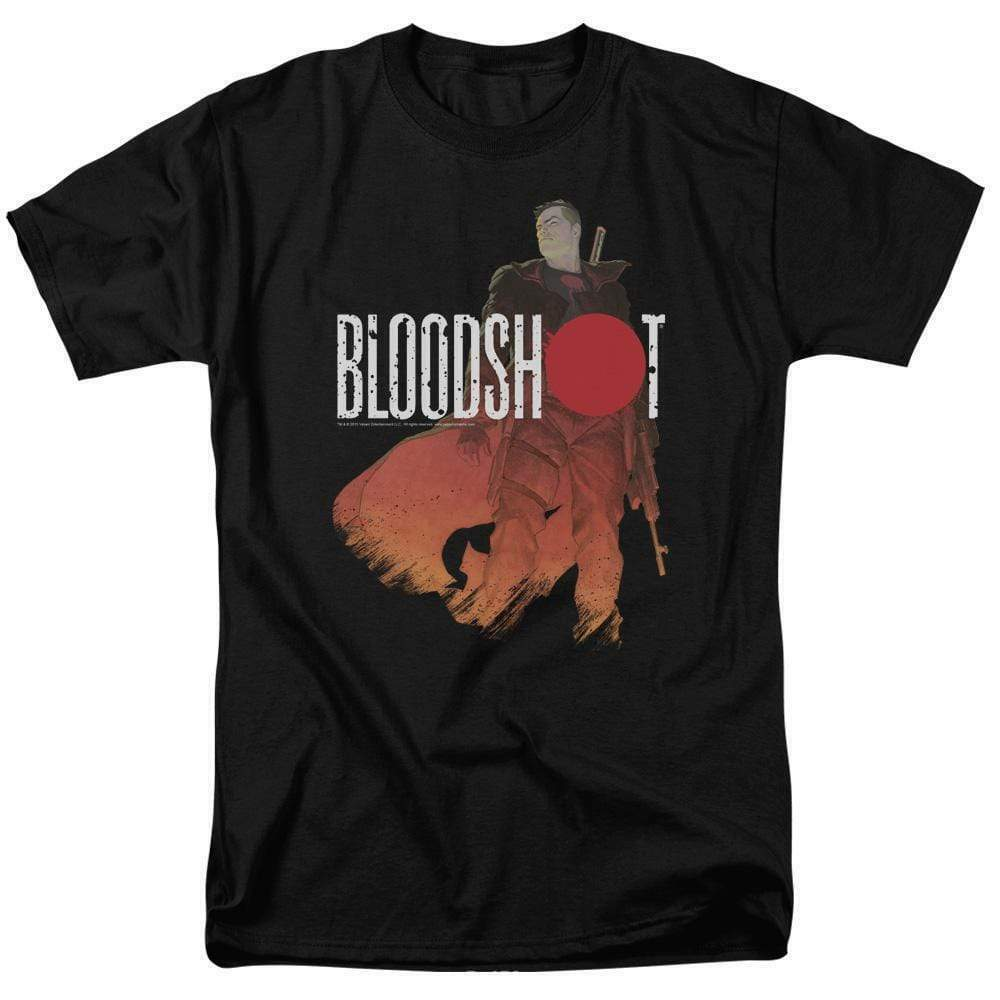 Bloodshot T Shirt Valiant Comics 90s comics Eternal Warriors black tee VAL118