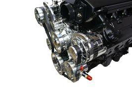 CHEVY GM LS LS1 LS2 LS6 FRONT DRIVE SERPENTINE PULLEY KIT GM CHEVROLET 5.7L 6.0L image 4