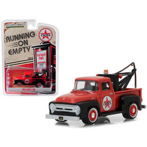 1956 Ford F-100 Tow Truck Red with Drop-In Tow Hook Caltex Running on Em... - $13.15