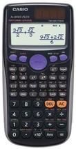 Casio FX-300ES Plus Scientific Calculator Natural Textbook Display - Black - $18.88