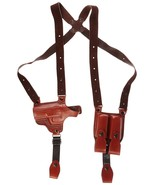 Tagua SH4-478 Shoulder Holster w/ Dual Mag Carrier, Sig Sauer P-290, Bro... - $69.99