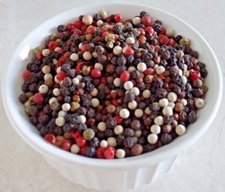 5 PEPPERCORNS RAINBOW MIXED WITH GRAINS OF PARADISE 2 OZ - 32 OZ RESEALA... - $7.19+
