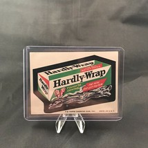 Topps Wacky Packages Series 8 Hardly Wrap Sticker Trading Card Vtg 1974 - $9.90