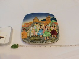 Royal Doulton Group 1973 Christmas In Mexico Catholic Church Collectors Plate - $44.38