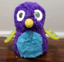 Hatchimals Purple Glittering Gardens Sparkle Draggle Electronic Interact... - $8.22